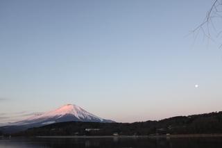 早朝の紅富士とフルムーン1.jpg