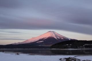 紅富士と雲 1月28日.jpg