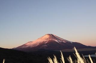 1月2日早朝の明神から紅富士2.jpg